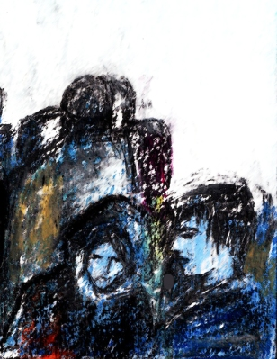 Warten2,Aussschnitt,2011