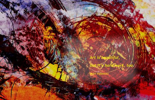 Art is work 1web