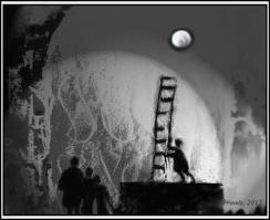 Am Fuße der Leiter , Variation 3b , RS, 2013