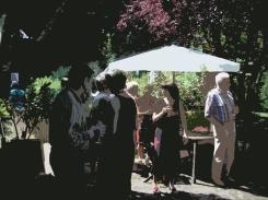 Gartenvernissage 2009, 1 digitale Variation, 2014