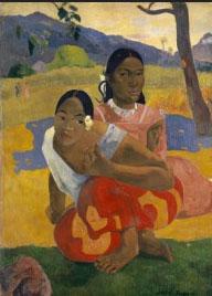 Hockende Mädchen 2 , Paul Gauguin