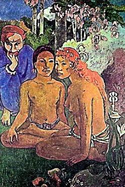 Hockende Mädchen 3, Paul Gauguin