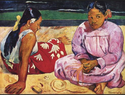Hockende Mädchen 1, Paul Gauguin