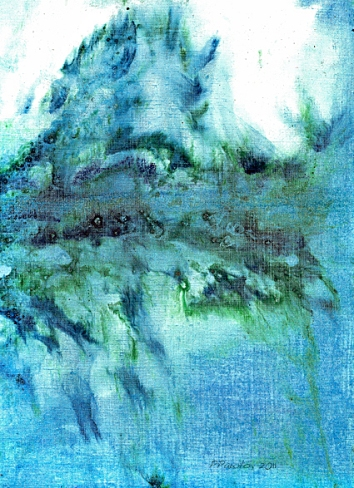 Spiegelungen, 2011 , Malerei