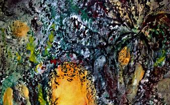 Bunte Fülle, Detail 1, 2016
