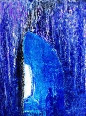 In der blauen Grotte. 2011