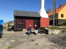 Gespräch im Hafen Bornholm 2017 - 74