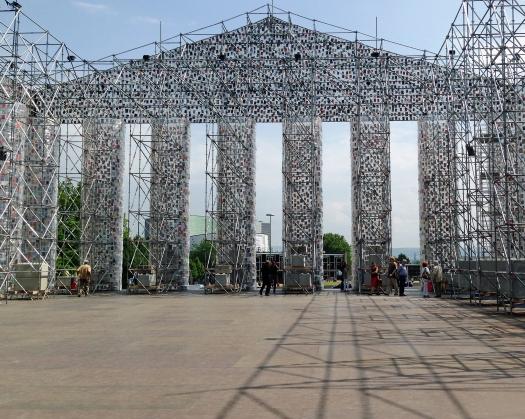 Kassel Dokumenta 2017 Parthenon der Bücher 3