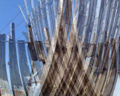 Digitale Arbeit aus der Serie Das weiße Schiff 2017