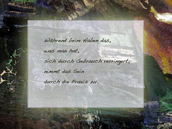 Erich Fromm Haben oder Sein S.111
