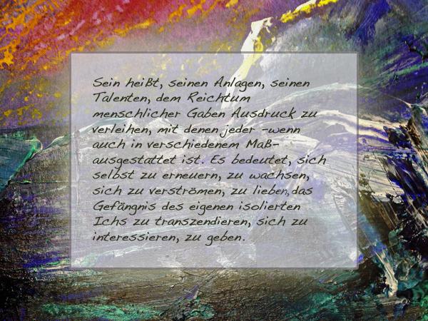 Erich Fromm Haben oder Sein 1976 S.90