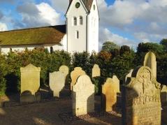 Friedhof in Nebel /Amrum, 2014