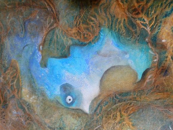 Endlich wieder am Meer 5, 40x50,2012