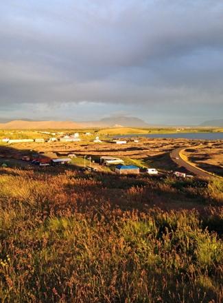 Island Mitternachtssonne Myvatn 5web