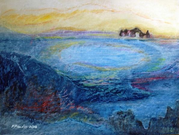 Die Erde öffnet sich 2-Am Fjord webS2018 - 1