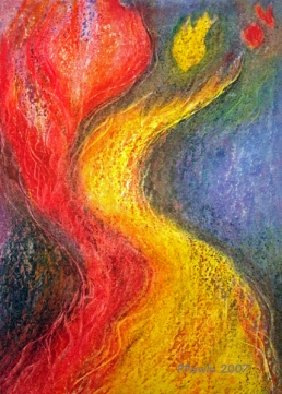 Feuerklang, 40x50 2007